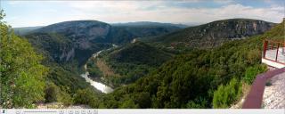 Panoramique de Chames et des 3 eaux