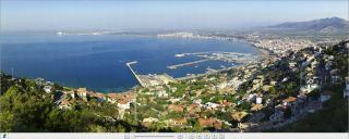 Panoramique de la baie de Roses