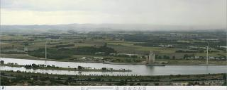 Panoramique de la vallée du rhône